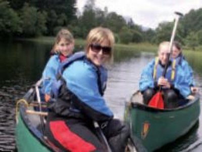 Scottish Outdoor Education Centre Dounans Canoeing