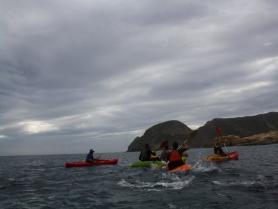 Kayaking and snorkelling in Almería