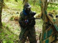 Paintball warriors take aim