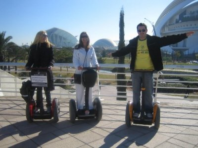 Segway tour in Valencia for 2 hours