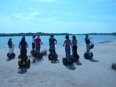 Segway route in Turia river, 2h
