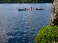 Canoeing expeditions also available.