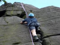 Climbing is something else you can do with The Exploration Society.