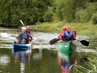 Canoeing and kayking
