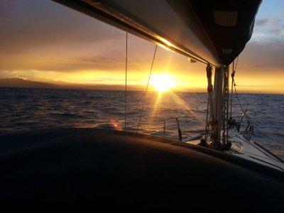 Romantic Night Sailboat Escapade in Vigo