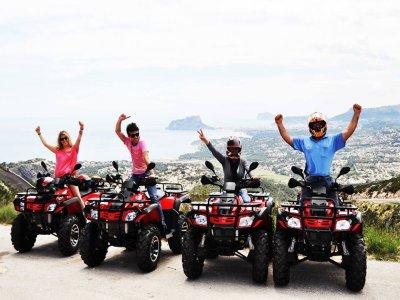 Ride on ATV, Moraira, 90 minutes