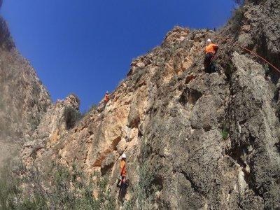 Rock climb course in Játiva, 4 hours