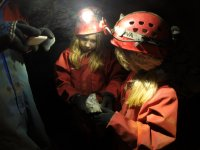 Caving in the Yorkshire Dales at the weekend