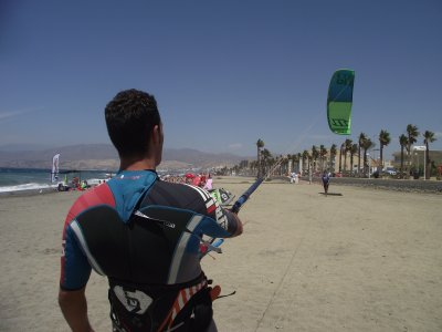 3 days kitesurfing course in Almería, 9 hours