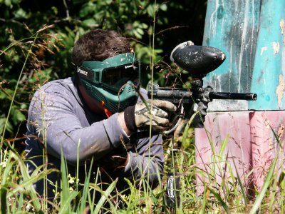 Paintball with Unlimited Charges+BBQ in Cazorla