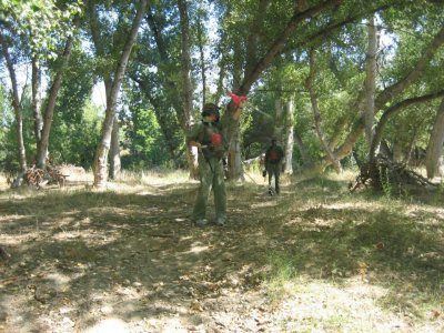 Paintball in Logroño adults and kids