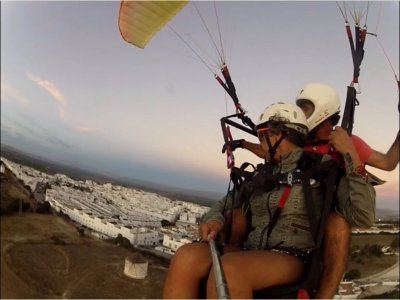 30 minutes paragliding flight in Algodonales