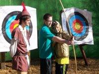 Expert bow and arrow tuition