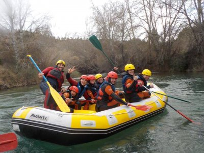 Rafting in the Júcar + paintball and accommodation