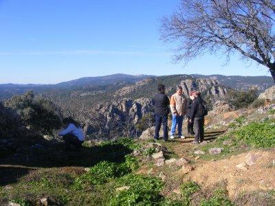 Hiking route in Despeñaperros