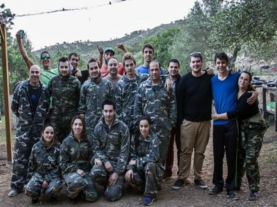 100 balls paintball in Mallorca