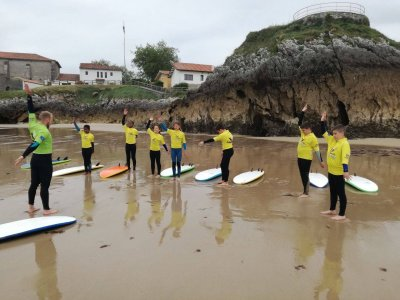 Surfing Camp in Llanes Easter, 5 Days