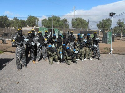 Paintball game in Guider 250 balls