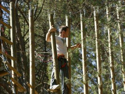 2 Ziplining Circuits for Children in Pelayos