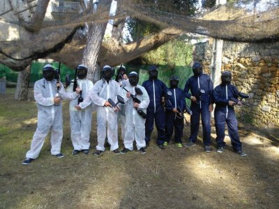 Paintball for stag parties and team building