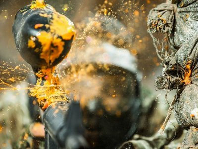 Paintball in Cazorla with unlimited paintballs