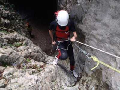 Canyoning for schools in Huesca
