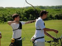 Outdoor and sunny archery