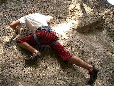 Sport climbing session near Tossal Gros
