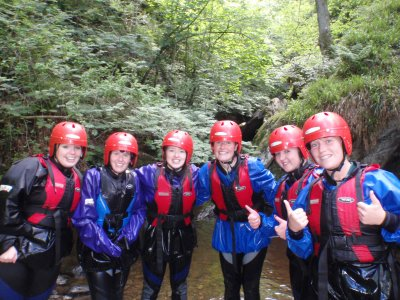 Safe and Sound Outdoors Canyoning
