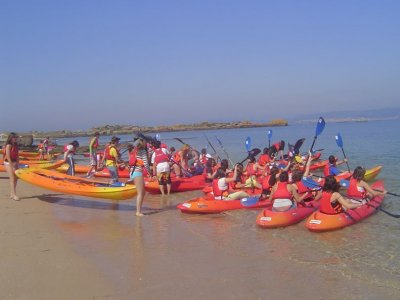 Kayaking to Areoso Islet in Pontevedra - Full Day