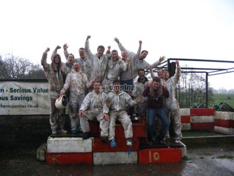 Muddy good fun!