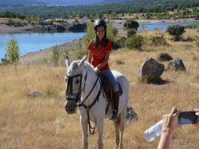 Horse riding urban camp in La Granja, 3 weeks
