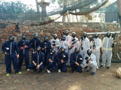 Birthday and paintball in Salou