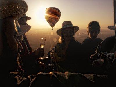 Romantic Balloon Ride + Night Hotel Stay Segovia