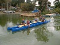 The double canoe!