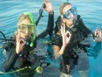 Scuba diving is great fun.
