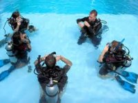 PADI Open Water Course.