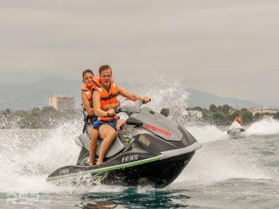 Two-seater Jet Ski Ride in Costa Dorada - 20 min