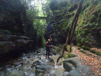 Canyoning, intermediate, Viu, Boixols, Glorieta