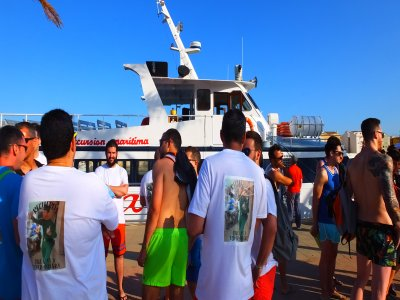 Boat party in Gandía morning and afternoon