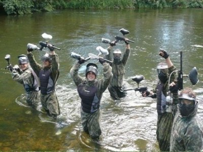 Paintball w/ 100 paintballs & barbecue