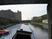 Down through the Liverpool docks.