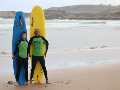 Private Surf Class in Suances 1 or 2 Persons
