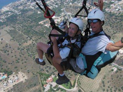 40 min paragliding flight in Tarragona