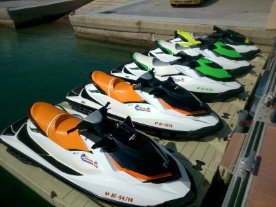 Jet ski renting 3 seats Ametla Mar 30min