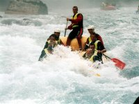 Rafting with the team