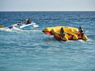 Flying raft, Moraira, 20 minutes