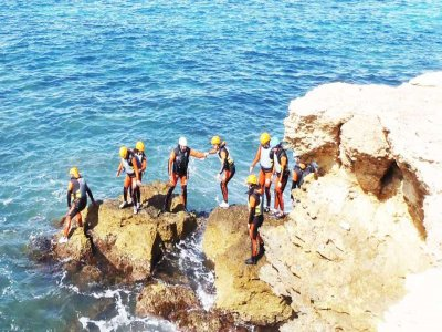 coasteering in isla plana