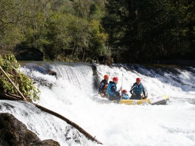 Rafting at the Sella for schools, 2h