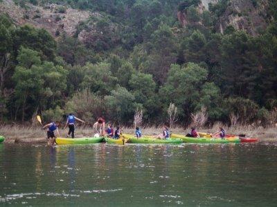 Kayaking from Miravet to Benifallet. Children fee